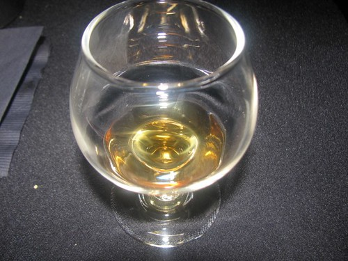 The 15-year-old Macallan offered an apparant difference when a splash of water was added.