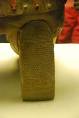 'Lucky Warrior' shoe detail