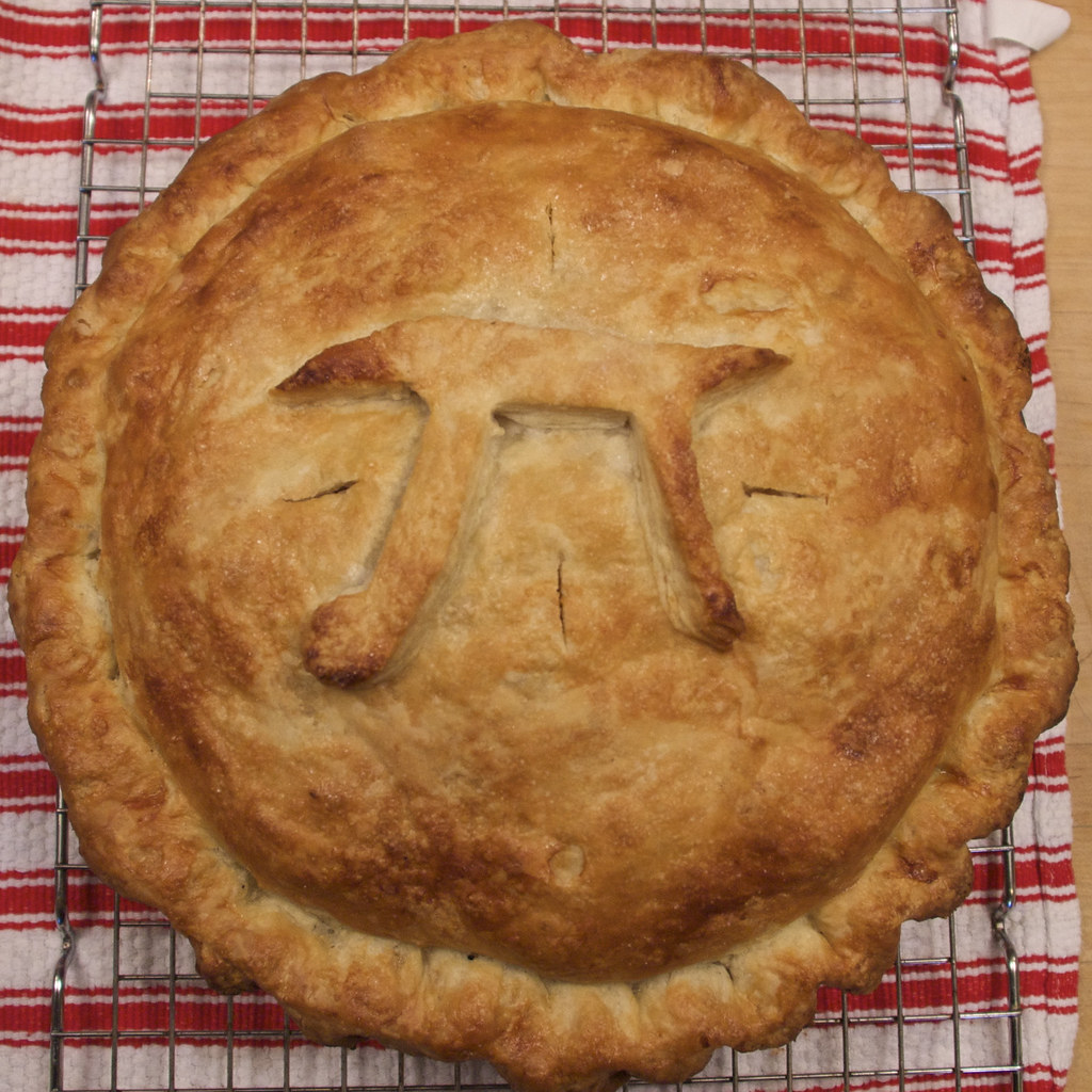 Pie for Pi Day, 2010