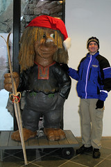 Will Chitwood in Oslo, Norway, during a tour of Scandinavia with Deb Chitwood after the 2004 Junior Grand Prix 'Final