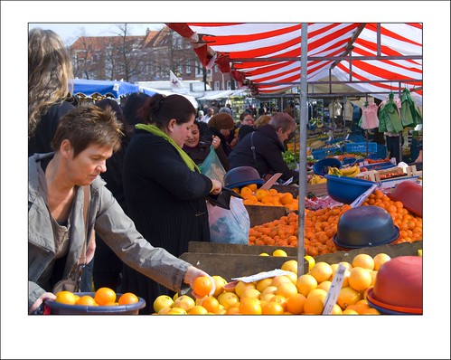The market, a colorful place.