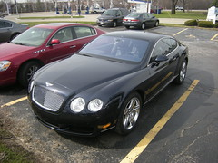 Bentley Continental GT (Hertj94 Photography) Tags: public illinois continental exotic spotted gt bentley 2010