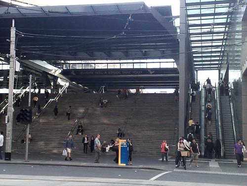 Southern Cross Station, Bourke St entrance