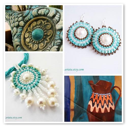 """mosaic """"Turquoise"""""""