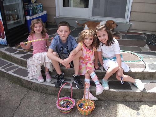 Easter Kid Posse!