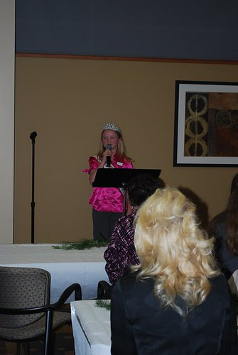 NAM Miss Washington speaks at the Womens Leadership Council