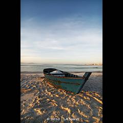 The boat (La.soares) Tags: sky praia beach canon rebel boat barco cu uwa ultrawideangle xti tokina1116mm atx116prodx