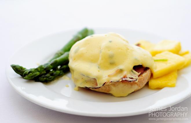 Mmm ... eggs benedict
