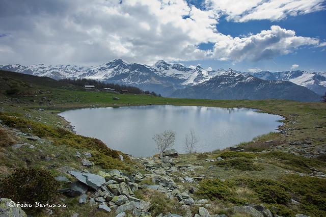 13. Il Lago di Cortina e spartiacque orientale della Valtournenche
