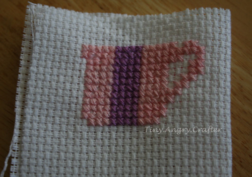 Tea Cup cross-stitch