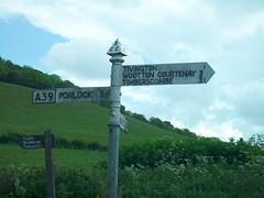 A39 fingerpost (co-ophistorian) Tags: road sign somerset roadsign signpost fingerpost a39