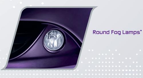 Perodua MyVi 2011 : Round Fog Lamps