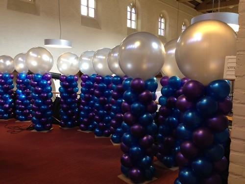 Ballonpilaar Breed Rond Leerhotel Het Klooster Amersfoort