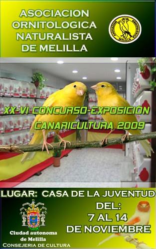 Concurso de canarios 2009