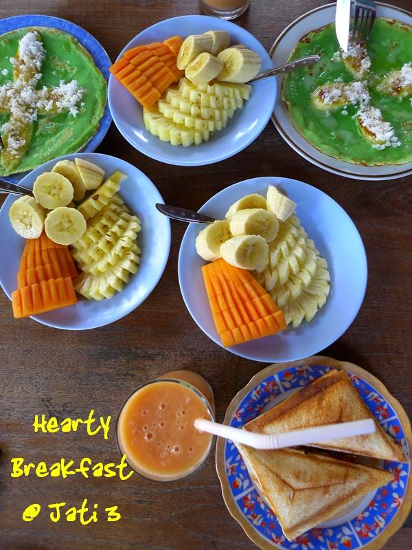 Breakfast @ Jati 3
