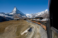 Gornergrat Bahn (boscoppa) Tags: mountain train switzerland nikon gornergrat matterhorn 18200vr d80 gornergratbahn touraroundtheworld