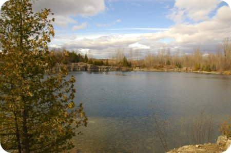 Nepean Quarry in Barrhaven