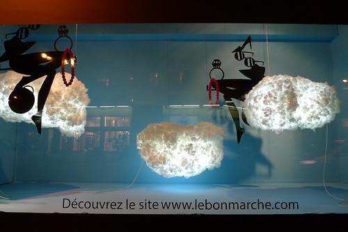Vitrines le Bon Marché - paris octobre 2009