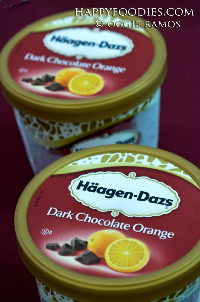 Haagen Daz Dark Chocolate Orange Cups
