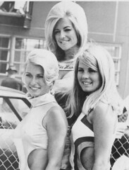 L to R,Marsha Bennett-Linda Vaughn-Nikki Phillips (torinodave72) Tags: girl golden linda nascar firebird miss vaughn pure shifter hurst nhra