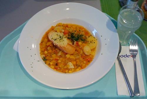 Gratinierter Kürbis-Gemüse-Eintopf / pumpkin veg stew au gratin
