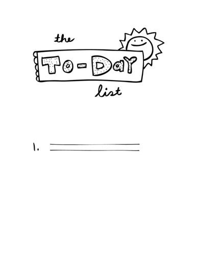 to-day list
