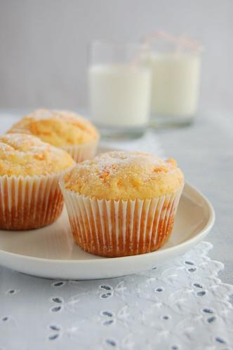 Carrot muffins / Muffins de cenoura