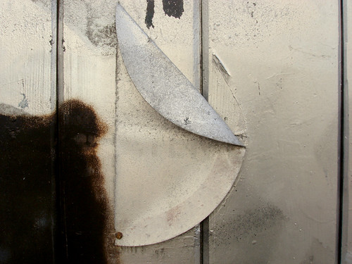 Silver Spraypaint on Windows