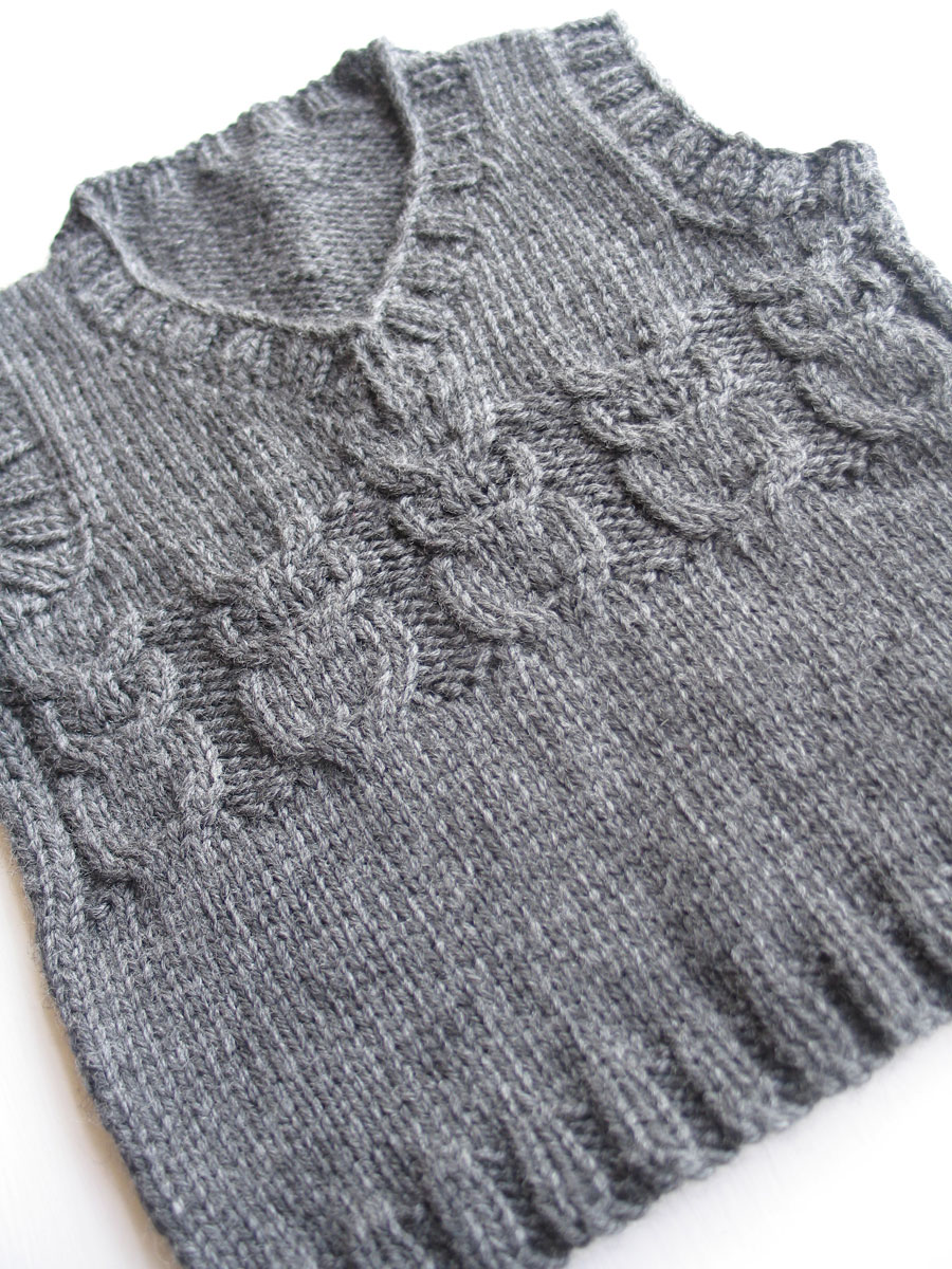 Knitted Baby Vest Pattern : a thing for string