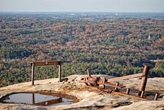 DSC_3278 (Greg Foster Photography) Tags: park county november mountain fall rock stone ga georgia iron natural state parks landmark 09 dome granite dekalb quartz monolith stonemountain 2009 fe