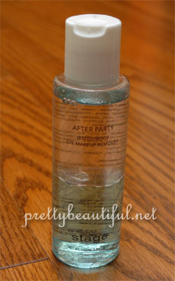 Stage After Party Waterproof Eye Makeup Remover