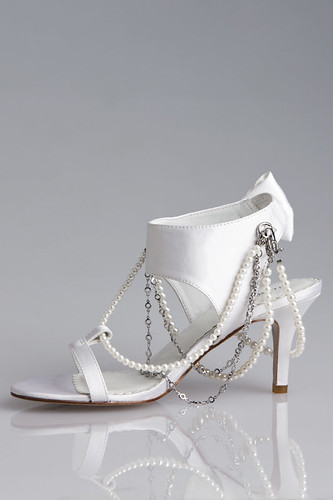 Unique designs for wedding shoes.