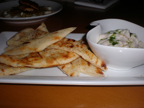 Woolwich goat cheese and caramelised onion dip