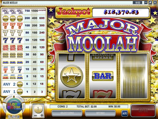 Major Moolah slot game online review