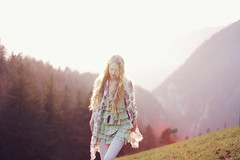 (Gabriela Gattaneo) Tags: mountains fashion hair dawn golden breath away takes myy