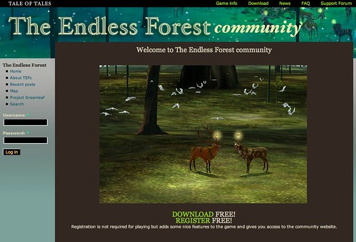 Endlessforest.org/community