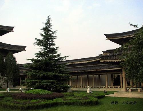 陕西历史博物馆外景