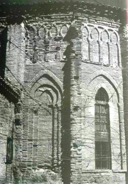 Ábside del Convento de Santa Fe a inicios del siglo XX