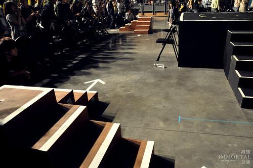 超近的拍照定點和第二舞台!