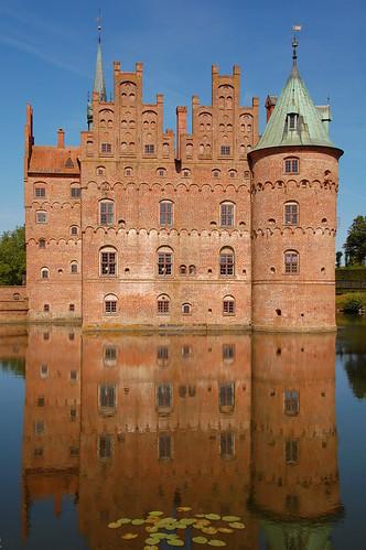 Danimarca: Egeskov Slot