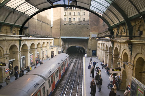 London Underground Tour starts at Farringdon