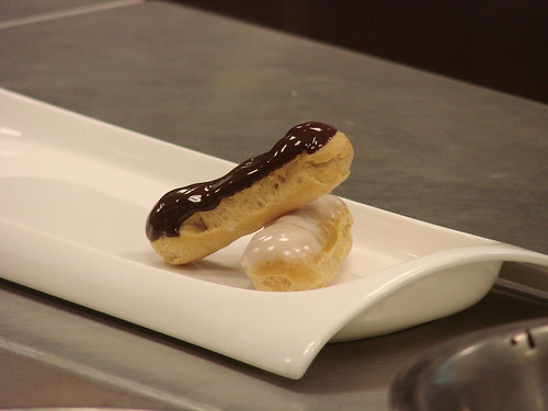 Eclair Class at the French Culinary Institute