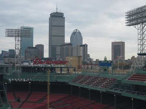 View of Downtown Boston from Fenway