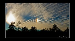 Sun Dog Phenomenon (John F Hark) Tags: sunset sky parhelion sundog phenomenon parheliccircle d300 nikkor1224mm johnfhark