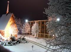 HPIM2201. Kivisakasti, Mikkeli (Timo-Pekka Heima) Tags: night yö mikkeli kaupunki city kivisakasti maisema view talvi lumi lunta snow 2004 hp finland suomi winter katu street