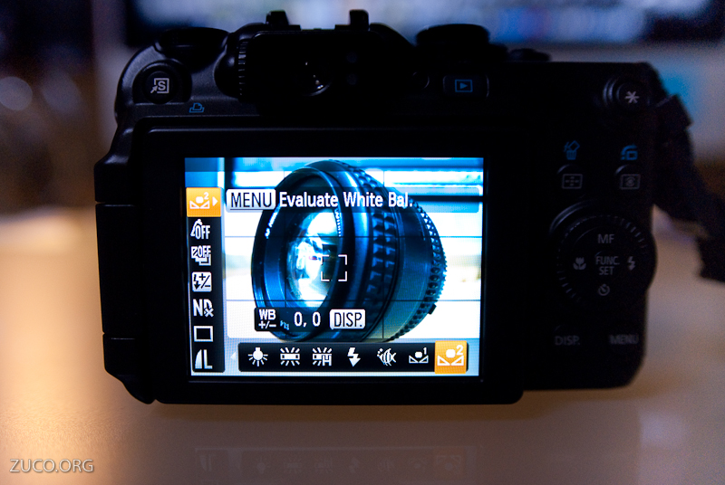 Canon G11 White Balance