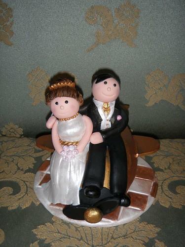 Flickr Amp Etsy Foto Friday Fondant Wedding Cake Toppers