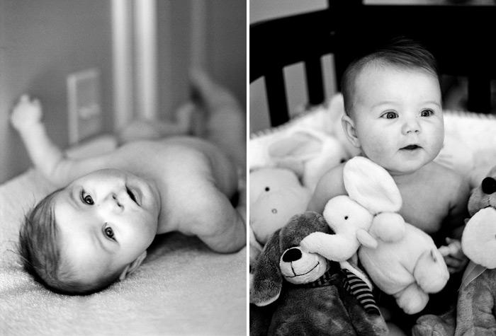 Image of Naomi Elizabeth:  6 Month Portraits