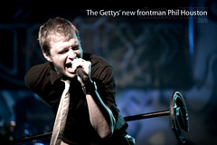 Gettys' frontman, Phil Houston