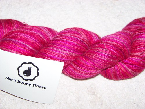 Black Bunny Fibers lace